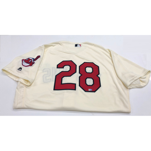 Photo of Corey Kluber 2016 Alternate Home Jersey