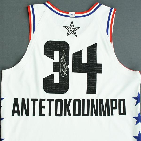 newest 2f9fb 573ce Giannis Antetokounmpo - 2019 NBA All-Star Game - Team ...