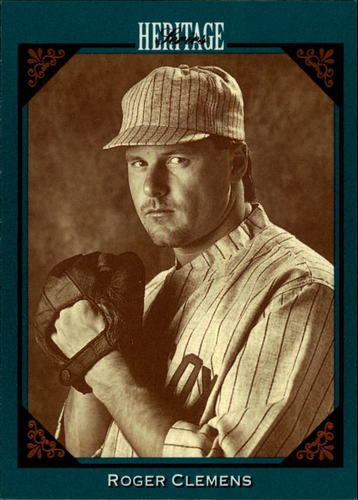 Photo of 1993 Studio Heritage #3 Roger Clemens