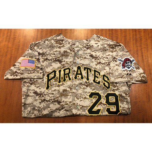 Francisco Cervelli - Autographed Game Used Jersey