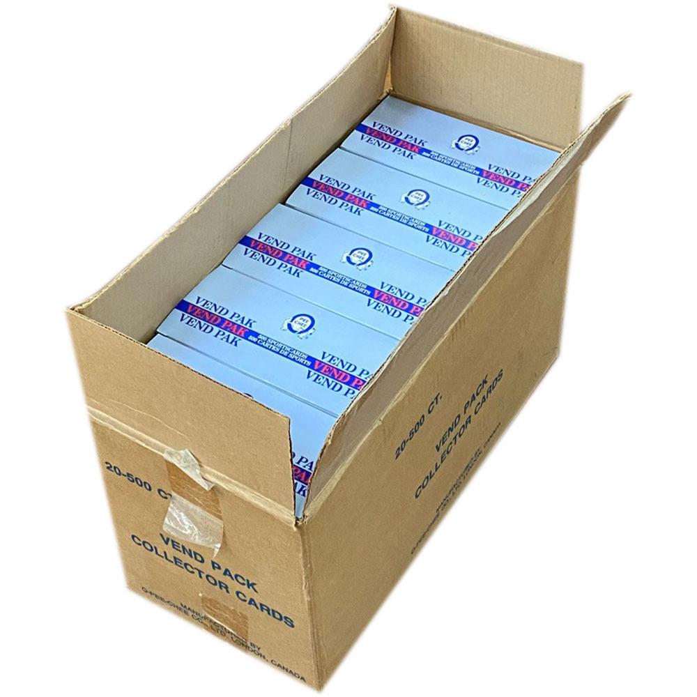 1990-91 OPC Vending Box Case - 20 Boxes - 500 Cards Each