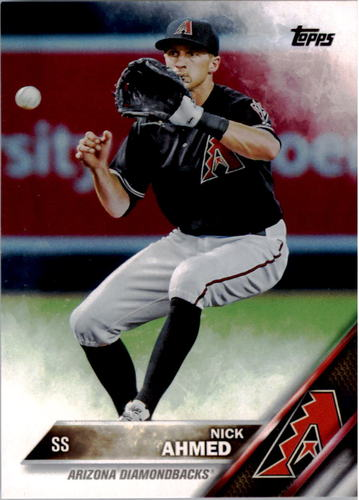 Photo of 2016 Topps #211 Nick Ahmed