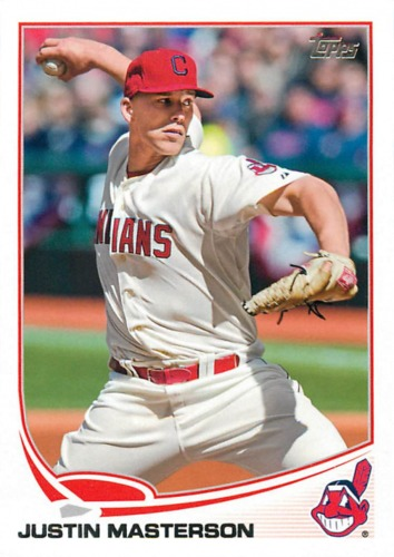 Photo of 2013 Topps #63 Justin Masterson