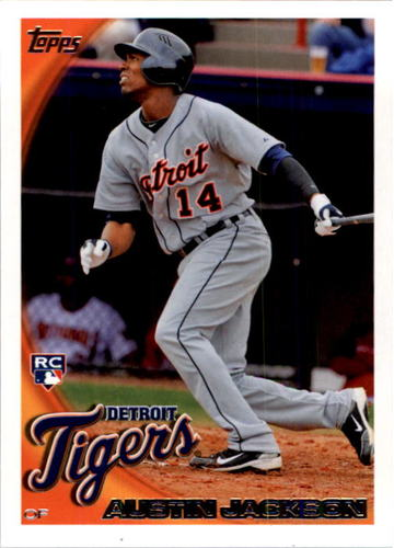 Photo of 2010 Topps #503 Austin Jackson RC