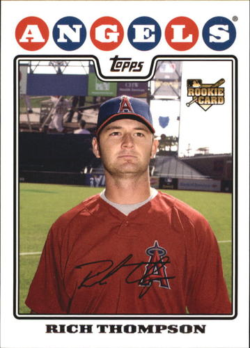 Photo of 2008 Topps #62 Rich Thompson RC