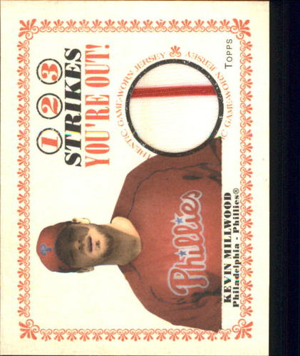 Photo of 2004 Topps Cracker Jack 1-2-3 Strikes You're Out Relics #KM Kevin Millwood Jsy D