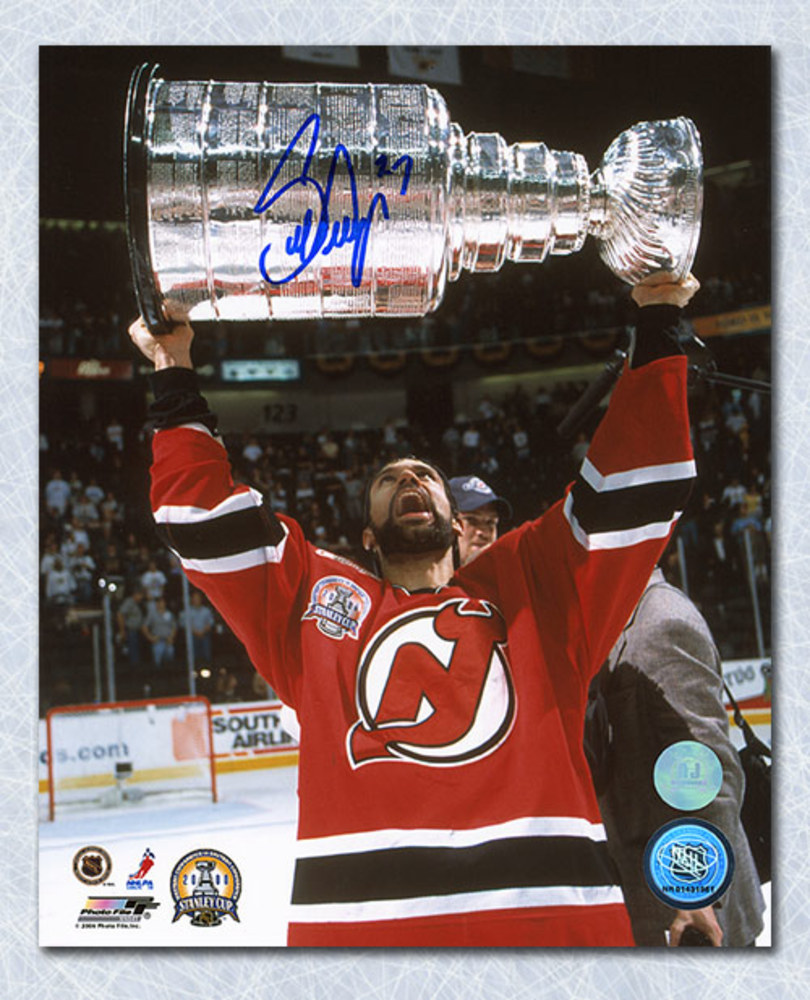 Scott Niedermayer New Jersey Devils Autographed Stanley Cup 8x10 Photo