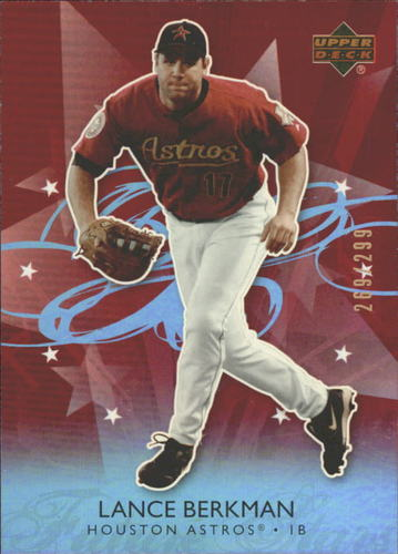 Photo of 2006 Upper Deck Future Stars Red #31 Lance Berkman /299