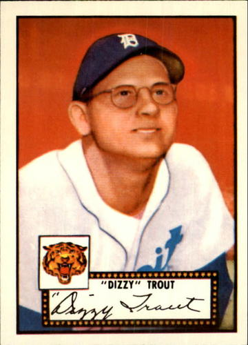 Photo of 1983 Topps 1952 Reprint #39 Dizzy Trout