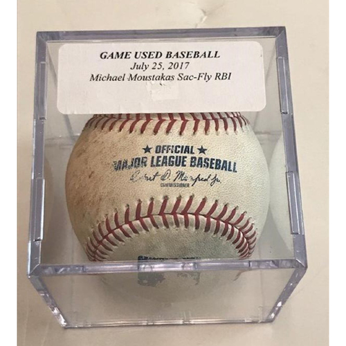 Photo of Game-Used Baseball: Mike Moustakas