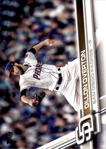 Photo of 2017 Topps Update #US145 Dillon Overton RC