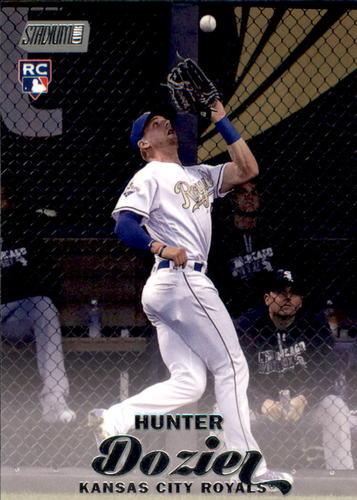 Photo of 2017 Stadium Club #267 Hunter Dozier Rookie Card