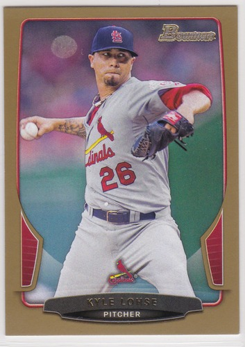 Photo of 2013 Bowman Gold #161 Kyle Lohse