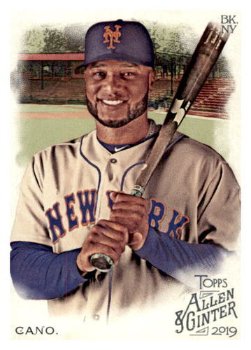 Photo of 2019 Topps Allen and Ginter #41 Robinson Cano