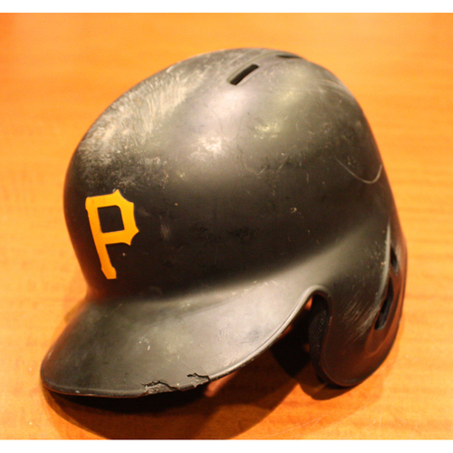 Photo of 2019 Game Used Helmet - Bryan Reynolds - 1st MLB at Bat - Size 7 3/8