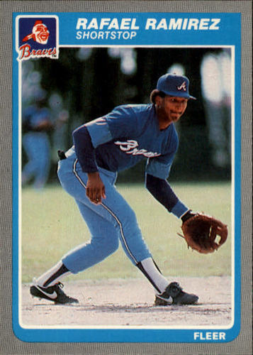 Photo of 1985 Fleer #339 Rafael Ramirez
