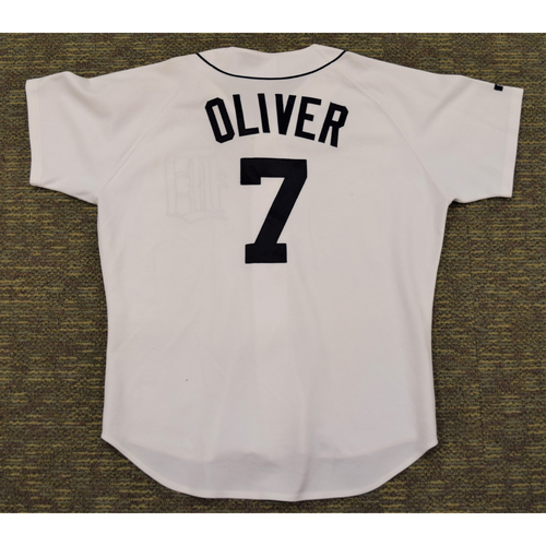 Photo of Joe Oliver Detroit Tigers #7 Home Jersey (NOT MLB AUTHENTICATED)