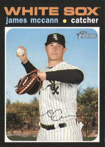 Photo of 2020 Topps Heritage #106 James McCann