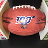 NFL - Seahawks Head Coach Pete Carroll Signed Authentic Football W/ 100 Seasons Logo