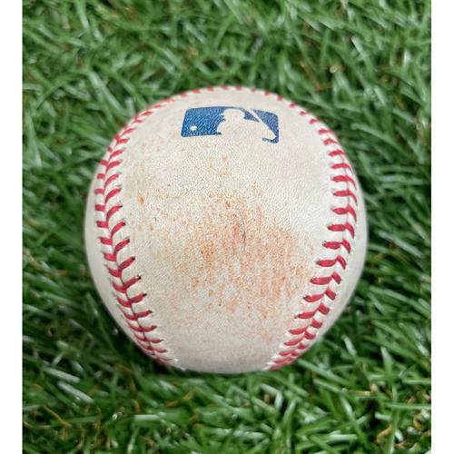 Photo of Game Used Baseball: Kevin Kiermaier double off Cole Sulser - Bottom 7 - June 11, 2021 v BAL