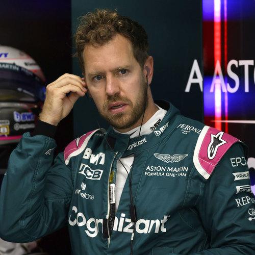 Photo of Sebastian Vettel 2021 Signed Race Used Suit - Imola GP