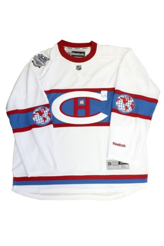 Montreal Canadiens 2016 Winter Classic Jersey Signed By Carey Price Size Xl Nhl Auctions