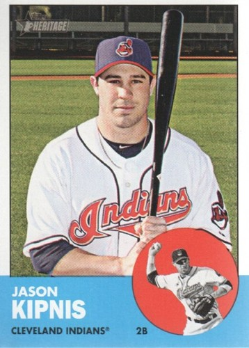 Photo of 2012 Topps Heritage #36 Jason Kipnis