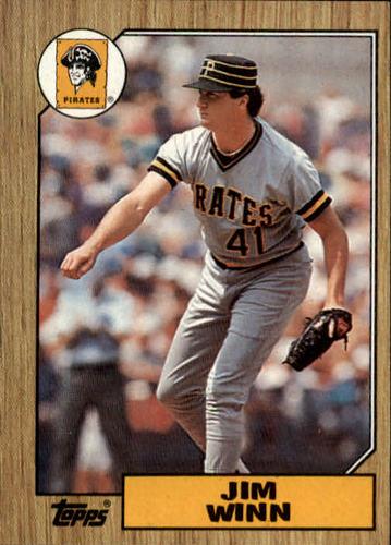 Photo of 1987 Topps #262 Jim Winn