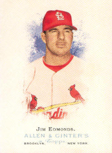 Photo of 2006 Topps Allen and Ginter #212 Jim Edmonds