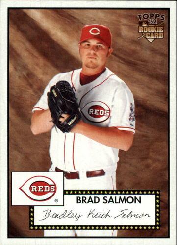 Photo of 2007 Topps 52 #116 Brad Salmon RC