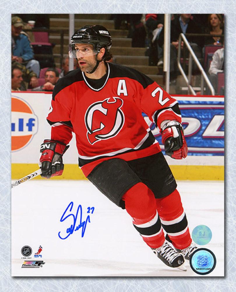 Scott Niedermayer New Jersey Devils Autographed Action 8x10 Photo