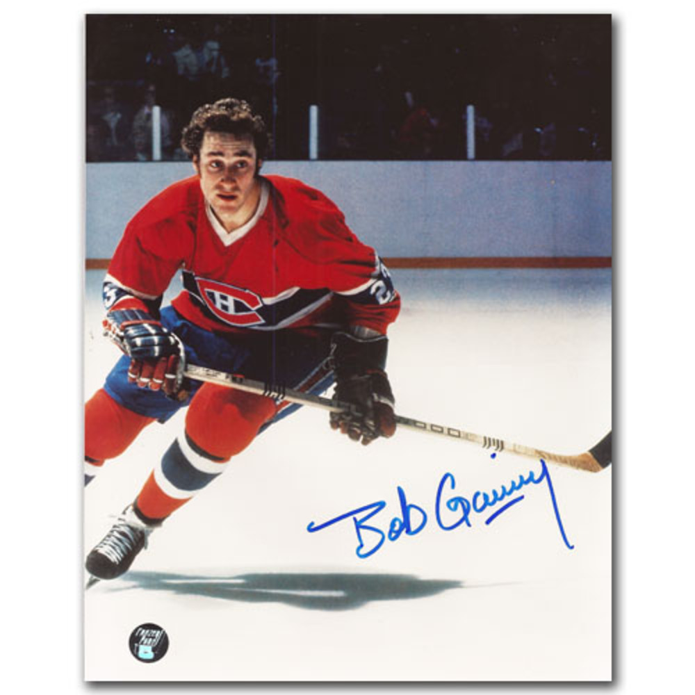 Bob Gainey Autographed Montreal Canadiens 8X10 Photo