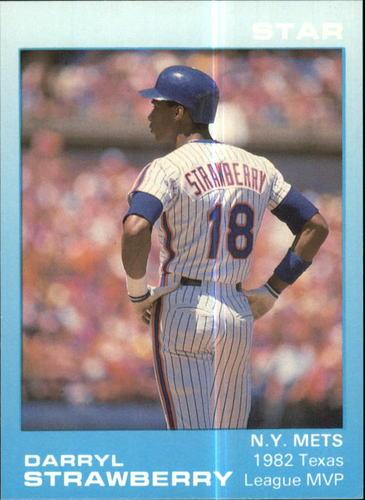 Photo of 1988 Star Strawberry Glossy #7 Darryl Strawberry/1982 Texas Lg. MVP