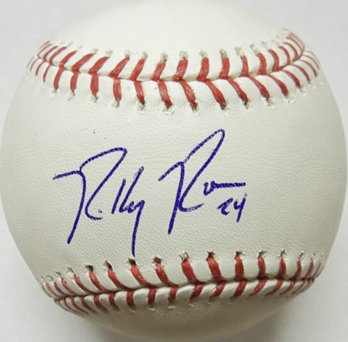 Photo of Ricky Romero Autographed Baseball