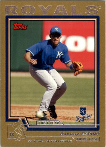 Photo of 2004 Topps Traded Gold #T210 Damaso Espino FY