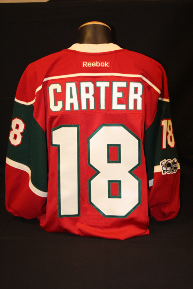 Authentic #18 Ryan Carter Jersey