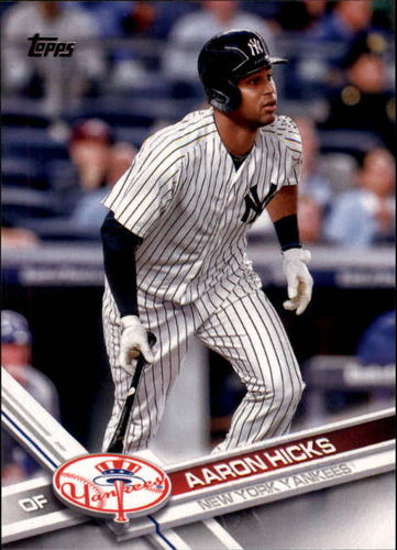 Photo of 2017 Topps #181 Aaron Hicks