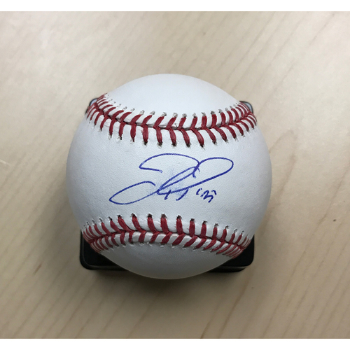 Photo of LA Dodgers Foundation Memorabilia Menu: Joc Pederson Autographed Baseball