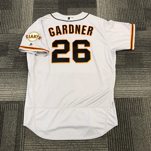 San Francisco Giants -2017 Game-Used Road Alternate Jersey worn by #26 Mark Gardner