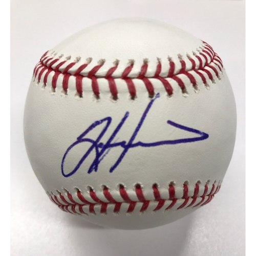 Photo of Tim Hudson Autographed Baseball
