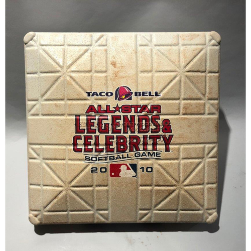 Photo of 2010 Taco Bell Legends & Celebrity Softball Game (1st Base, Used 1st-5th)