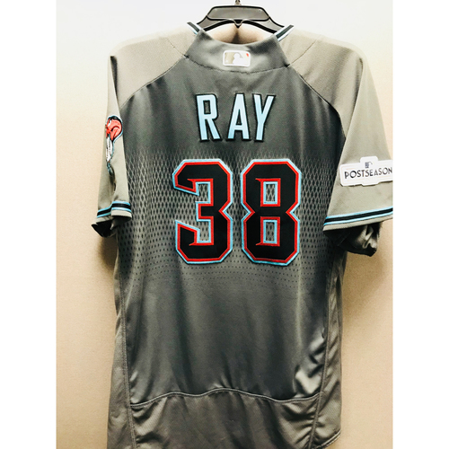 Photo of 2017 Team-Issued Robbie Ray Jersey