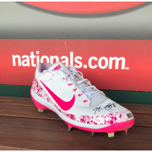 Photo of Autographed Max Scherzer Cleat