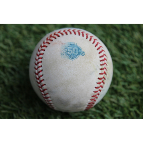 Photo of Game-Used Baseball: Sean Gilmartin Pitched Strikeout to Brett Phillips (BAL @ KC - 9/2/18)