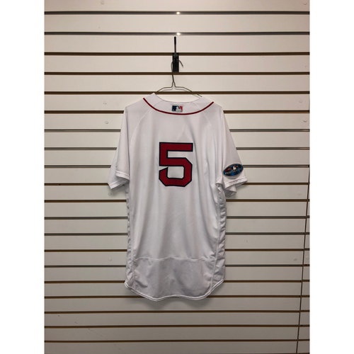 Photo of Ian Kinsler Team-Issued Home Postseason Jersey