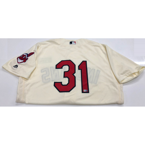 Photo of Danny Salazar 2016 Alternate Home Jersey