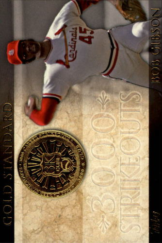 Photo of 2012 Topps Gold Standard #GS5 Bob Gibson