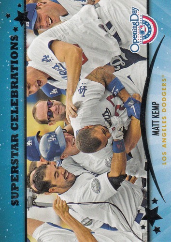 Photo of 2013 Topps Opening Day Superstar Celebrations #SC1 Matt Kemp