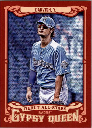 Photo of 2014 Topps Gypsy Queen Debut All Stars #ASYD Yu Darvish
