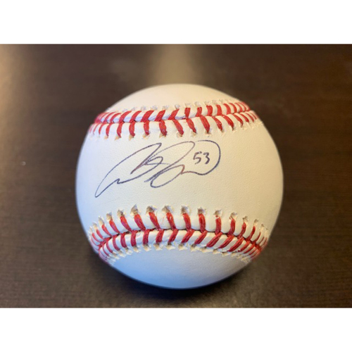 Photo of Giants Community Fund: Austin Slater Autographed Baseball
